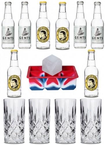 Gin Gläser & Tonic Set