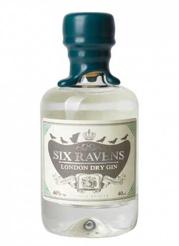 Six Ravens London Dry Gin Mini