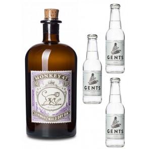 Monkey 47 Gin mit Tonic Wasser