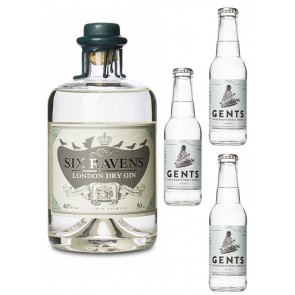Six Ravens Gin mit Tonic Wasser